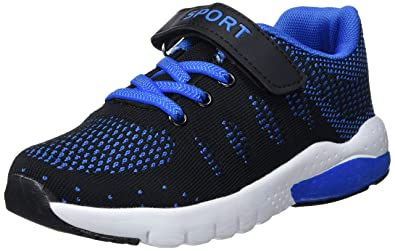 low priced 3ee9c cade0 MAYZERO Kids Tennis Shoes Breathable Athletic Shoes Walking Running Shoes  Fashion Sneakers for Boys Girls Blue