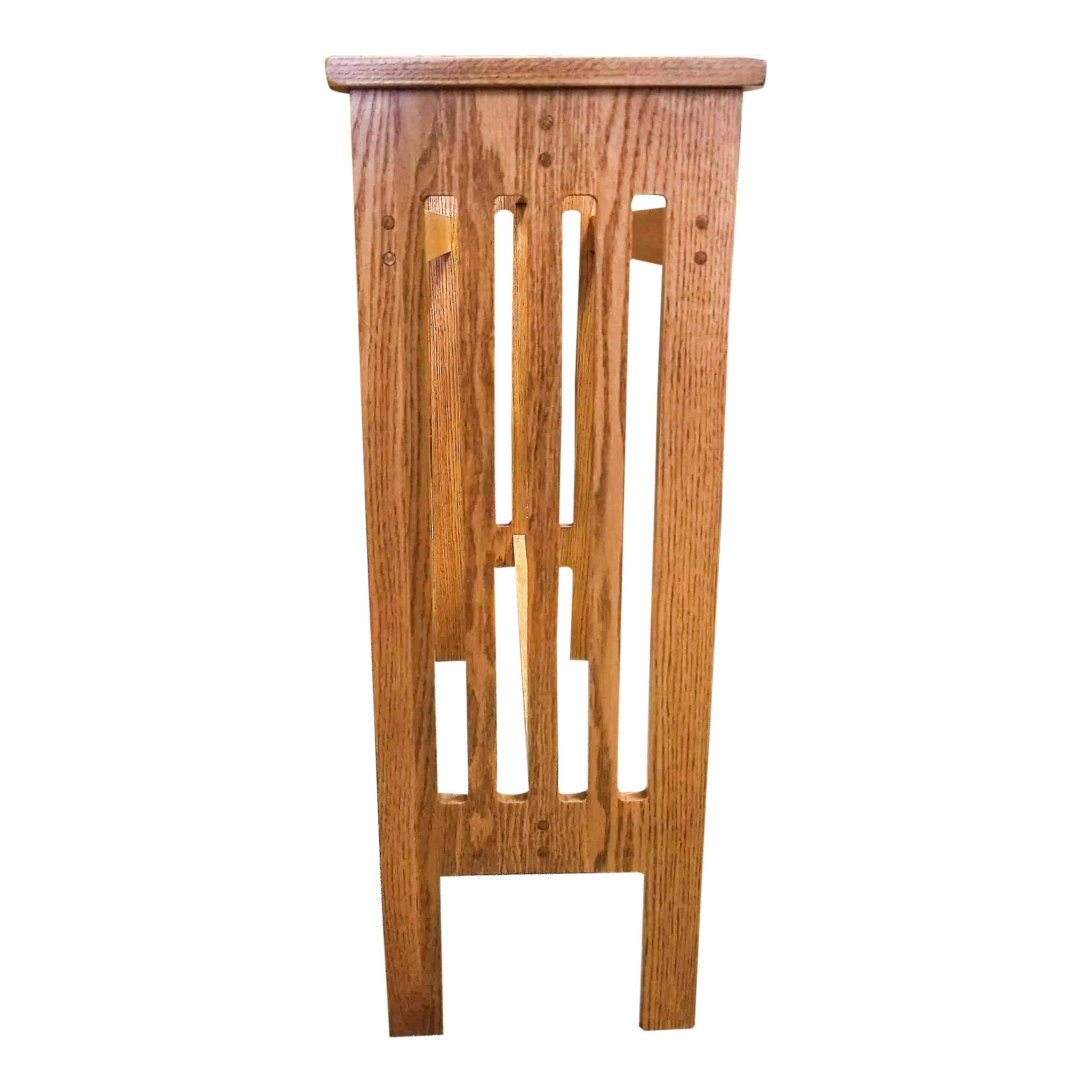 Allamishfurniture Amish Oak Floor Quilt Rack Mission UNASSEMBLED by Allamishfurniture