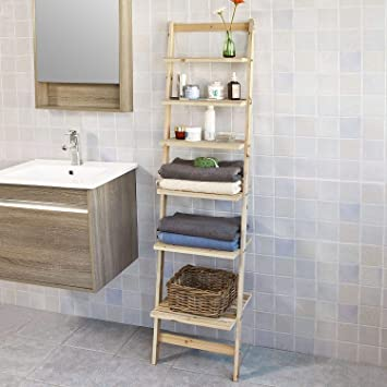 Prime Sobuy Frg161 N 6 Tiers Bookcase Ladder Shelf Wall Shelf Home Office Storage Display Shelving Unit Download Free Architecture Designs Intelgarnamadebymaigaardcom