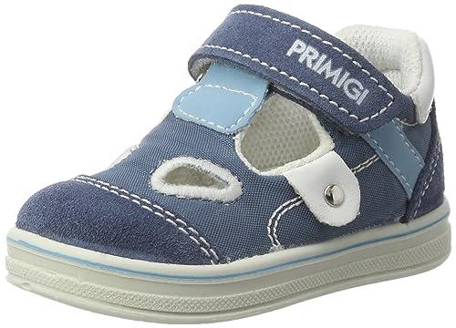 f8744bcf75a769 Primigi Pba 7537, Scarpe Primi Passi Bimbo, Blu (Azzurro/Jeans), 24 ...