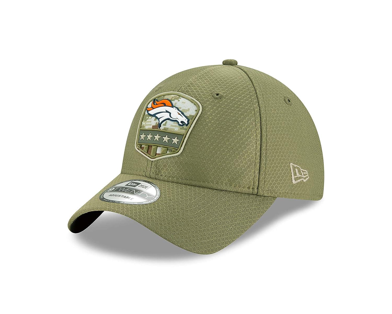 New Era Denver Broncos 9twenty Adjustable Cap on Field 2019 Salute to Service