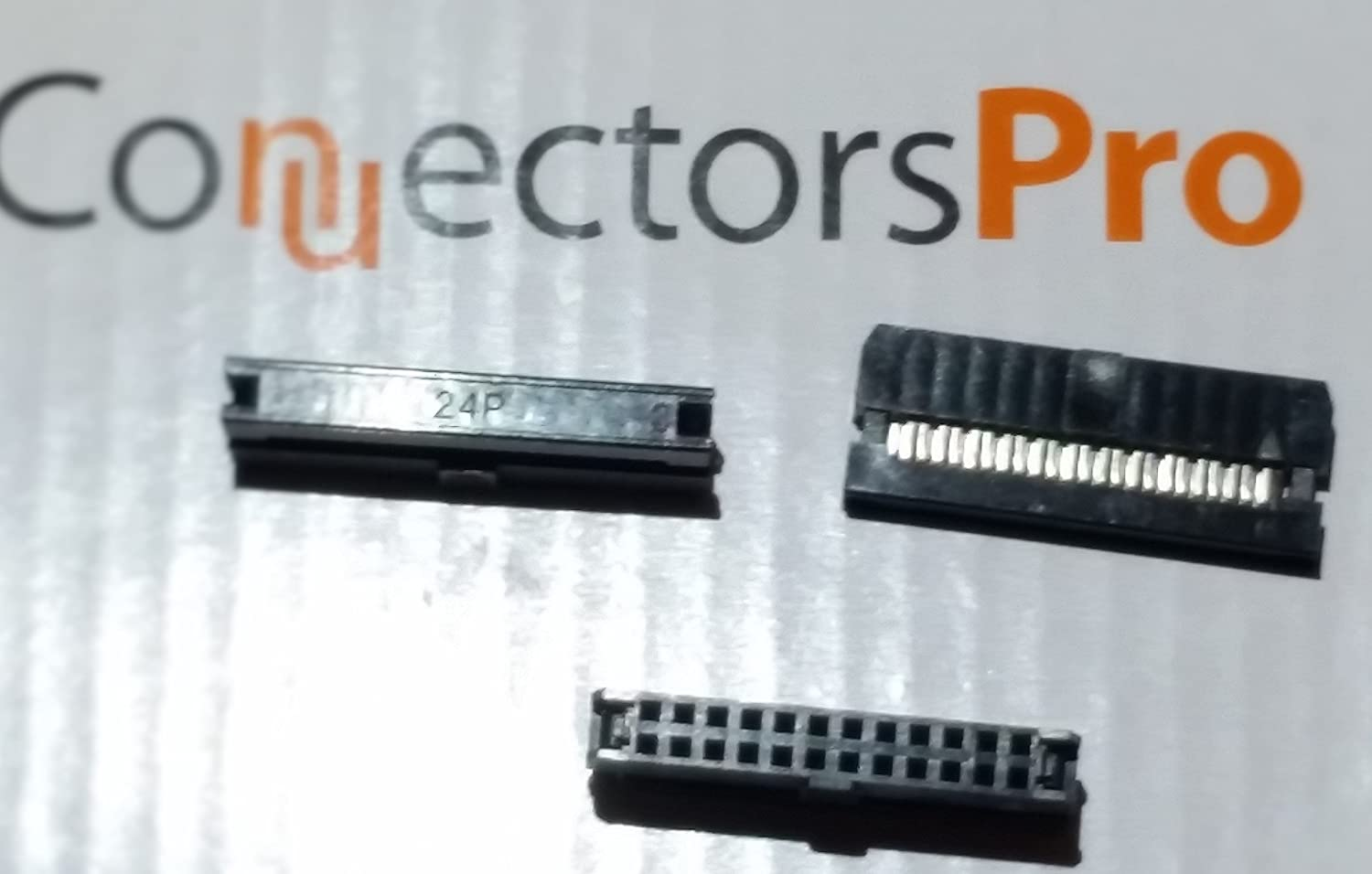 Pc Accessories Connectors Pro 20-PK 2X12 24P 2mm 0.079 Pitch Dual Row IDC Socket 24 Pins 2.0mm FC Terminate to 1.0mm Flat Ribbon Cable Marvic International Inc IDC-2MM-24P-20PK