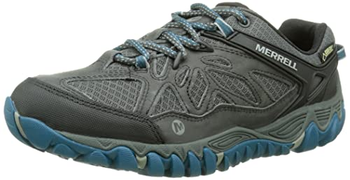 Mens All Out Blaze Vent Gore-Tex Low Rise Hiking Shoes Merrell QP1TxB