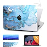 TIMOCY Laptop Case for MacBook Air 13 Plastic Hard Shell Touch Bar 4 in 1 Bundle Keyboard Cover with Screen Protector for 201