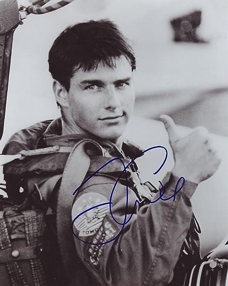 Tom Cruise Autograph Signed 8 x 10 Photo