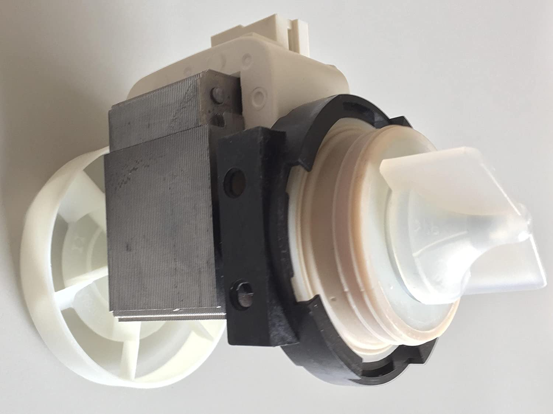 Amazon.com: Miele Bomba de desagüe para lavadora 3568614 ...
