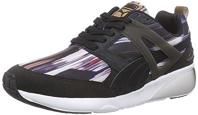 Puma Aril Fast Graphic Wn's, Sneakers Basses Femmes - Noir - Schwarz (Black-