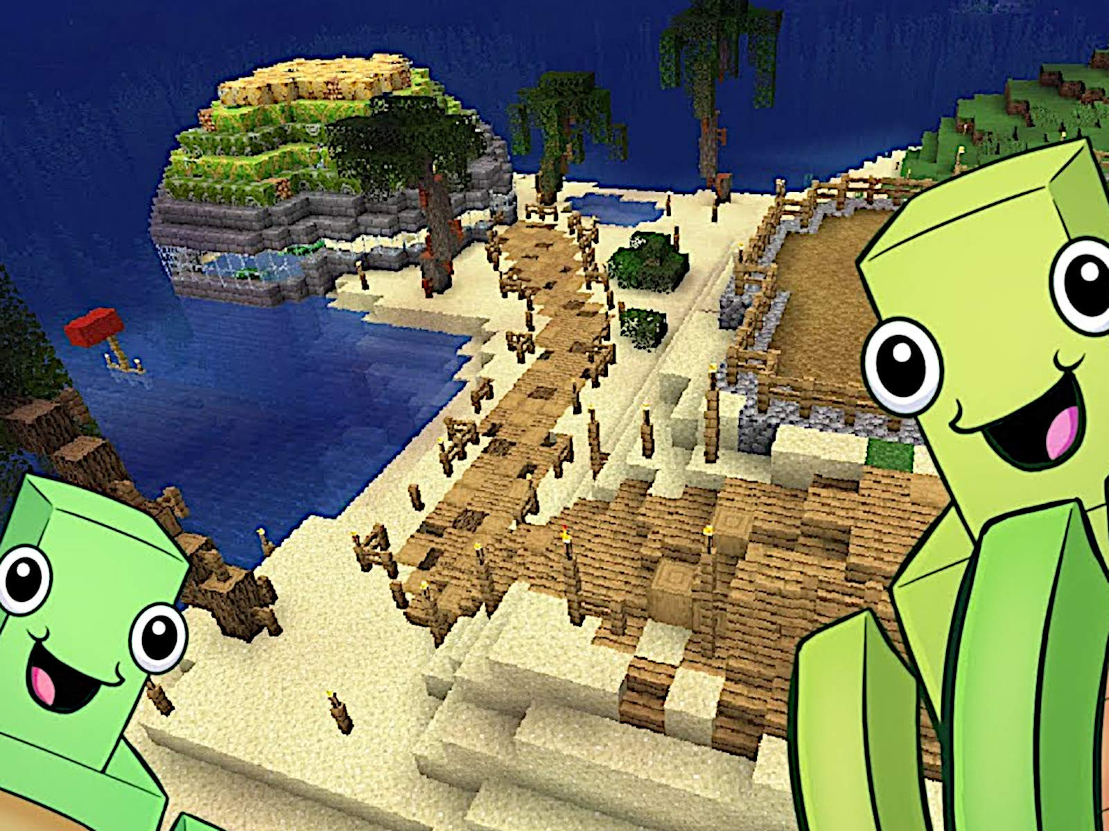 Amazon com: Clip: Minecraft Aquatic 1 13 Survival: Kai Kay