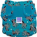 Bambino Mio, Miosoft Cloth Diaper Cover, Zebra Crossing, Size 1 (<21lbs)