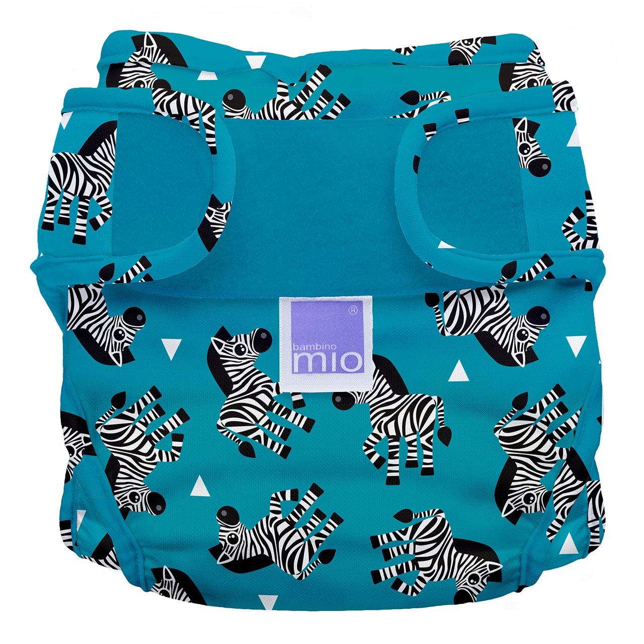 Bambino Mio, mioduo Cloth Diaper Cover, Zebra Crossing, Size 2 (21lbs+)