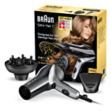 Braun Satin Hair 7 Haartrockner HD 730, mit IonTec, Stylingdüse und Diffusor, 2200 Watt
