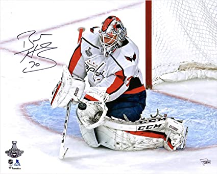 "313f464f3 Braden Holtby Washington Capitals 2018 Stanley Cup Champions Autographed  16"" x 20"" Stanley Cup"