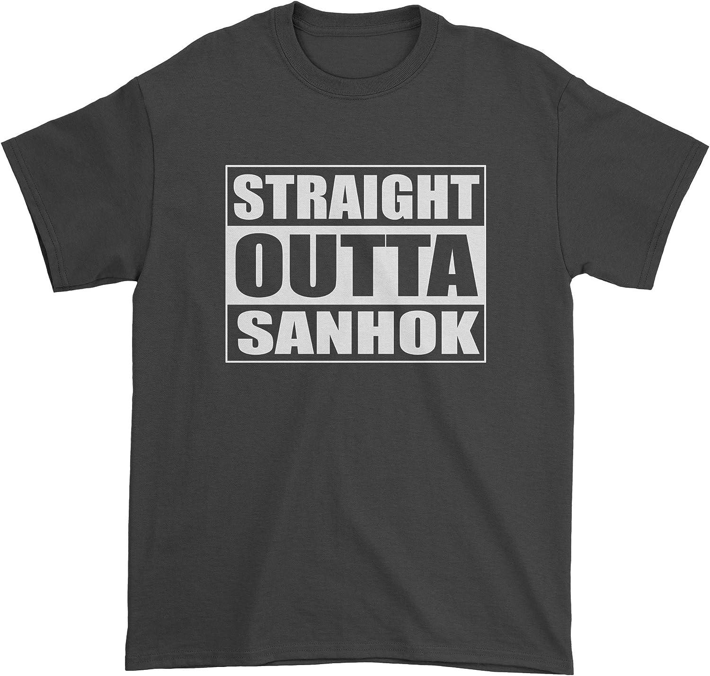 FerociTees Straight Outta Sanhok Battlegrounds Youth T-Shirt