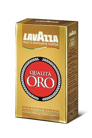 Lavazza Qualita Oro Café Molido - 250 gr: Amazon.es: Alimentación ...