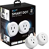 Geeni DOT Smart Wi-Fi Outlet Plug, White, (2 Pack) – No Hub Required – Works with Amazon Alexa and Google Assistant, Requires