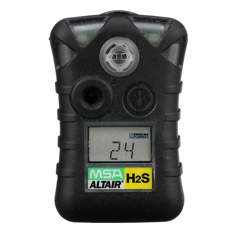 MSA 10092521 ALTAIR Single Gas Detector, Hydrogen Sulfide (H2S), Low Alarm 10 PPM, High Alarm 15 PPM: Amazon.com: Industrial & Scientific