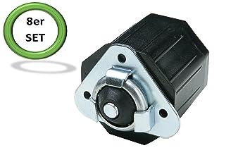 Palmat Accessoire moteur tubulaire de volet roulant Pièce octogonale en plastique  pour embout de moteur tubulaire d8374b4bfdf9