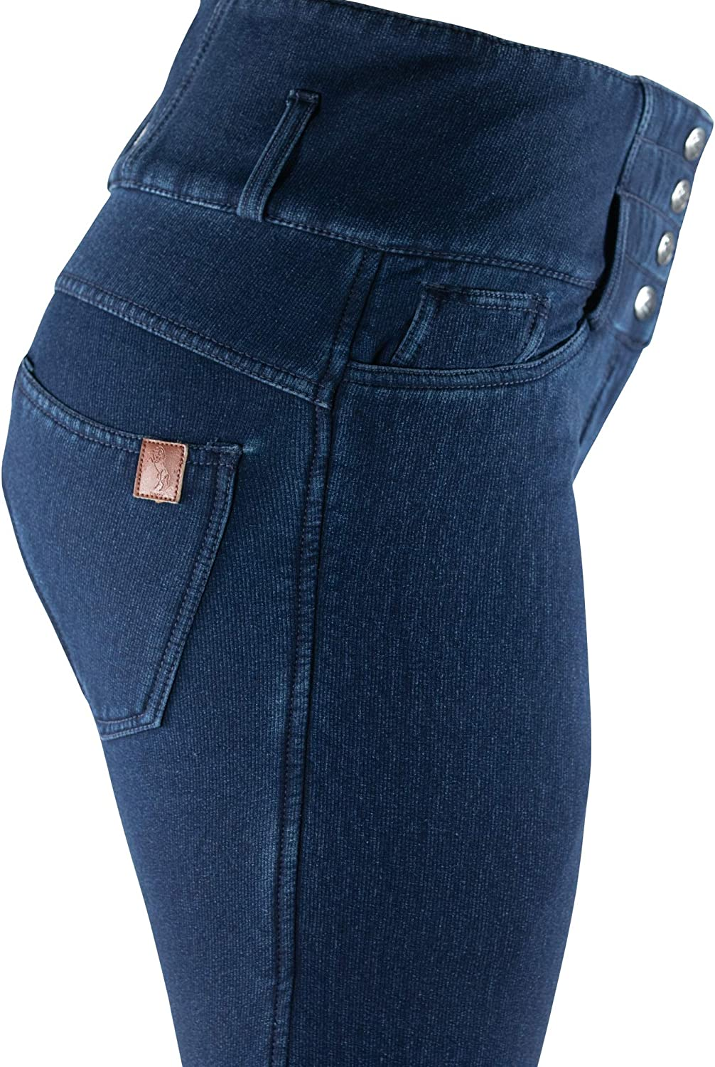 Horze Womens Limited Edition Kacy Full Seat Breeches Denim