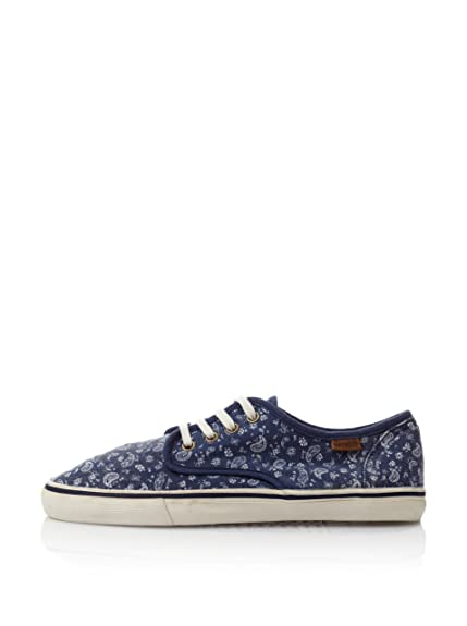Springfield Zapatillas Print Bandana Azul Marino EU 40: Amazon.es: Zapatos y complementos