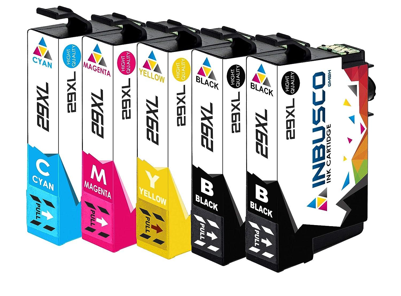 5 cartuchos de impresora IBC para Epson PK 29 XL Expression Home ...