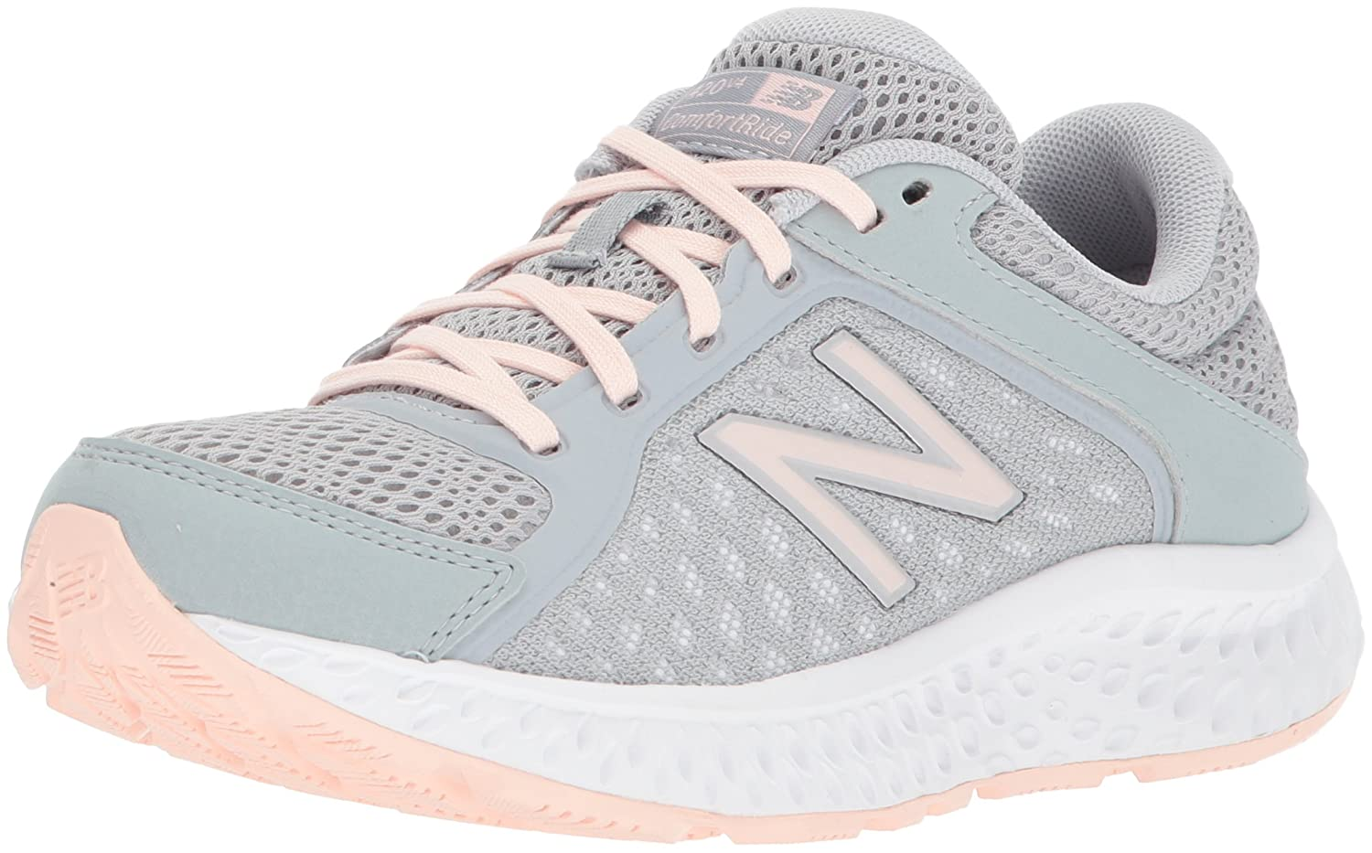 New Balance Women's 420v4 Cushioning Running Shoe B06XS68PMC 9 D US|Silver Mink