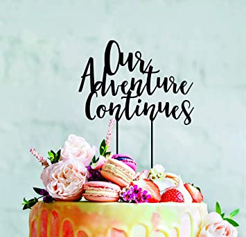 Amazon Com Funlaugh Our Adventure Continues Wedding Engagement