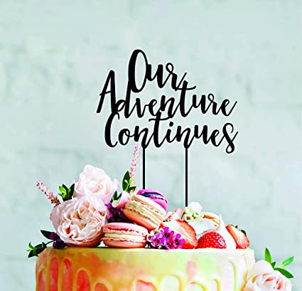 Amazon Com Funlaugh Our Adventure Continues Wedding Engagement