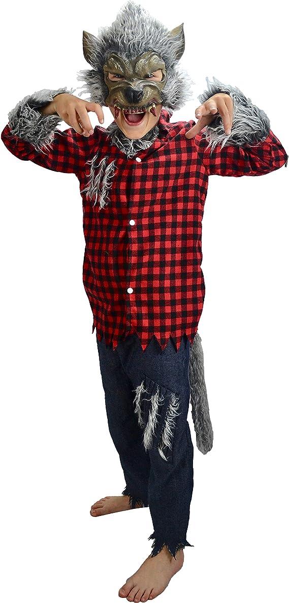 Little Babas Disfraces Traje de Halloween de Hombre Lobo Werewolf ...