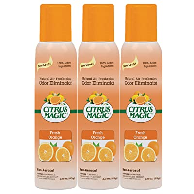 Citrus Magic Natural Odor Eliminating Air Freshener Spray Review