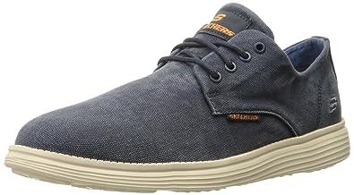 Skechers STATUS- BORGES, Zapatillas de Deporte, Hombre: Skechers: Amazon.es: Zapatos y complementos