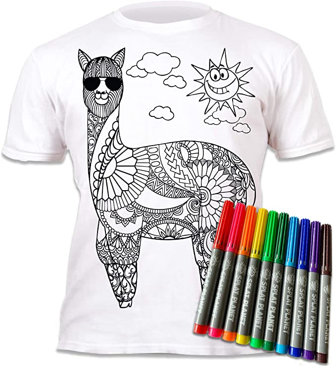 Splat Planet Camiseta Infantil Llama Muy Guay. con ...