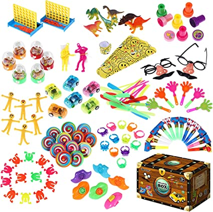 4 Large Sticky Hand Toys Party Bag Fillers Favor Gift Prize Fun Birthday Play VP