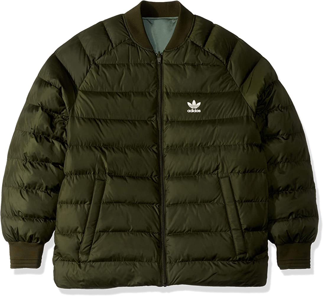 Amazon.com: adidas Originals Superstar - Chaqueta reversible ...