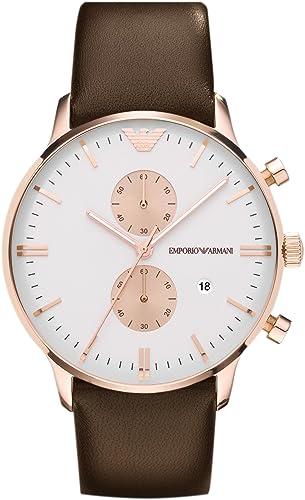 EMPORIO ARMANI - Hombre Relojes - ARMANI CLASSICS - Ref. AR0398: Emporio Armani: Amazon.es: Relojes