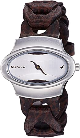 d214b5cf4 Buy Fastrack Analog Silver Dial Women s Watch - 6004SL01 Online at ...