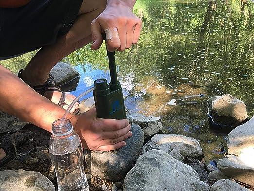 Filtro de agua portátil Boston Fortis 2018, purificador de 4 ...