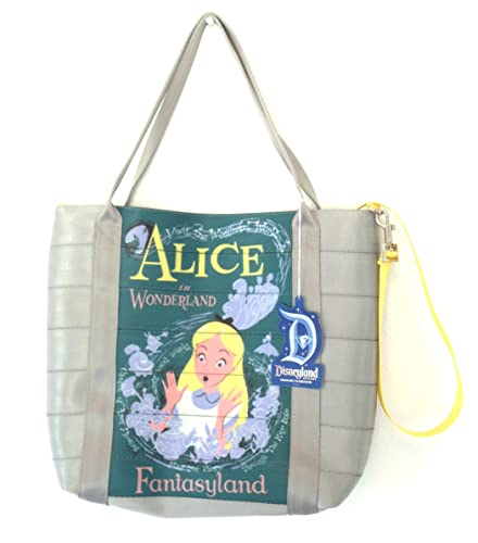 f1700f89df Amazon.com  Disney Parks Fantasyland Alice in Wonderland Attraction Tote Bag  Purse By Harveys  Shoes