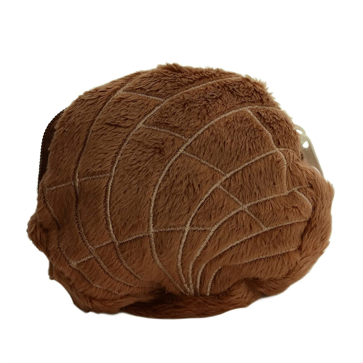 Amazon.com : Adorox Pan Dulce Concha Plush Coin Purse Mexican Pastry Cute Novelty Money Pouch (Chocolate Brown (Coin Purse)) : Beauty