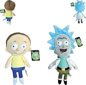 Rick y Morty - Pack de 2 Peluches - Peluche de Rick 40cm(30cm ...