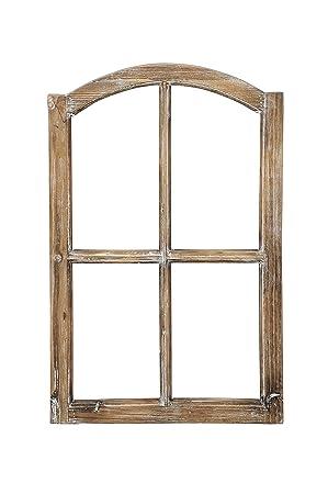 Amazon De Deko Fensterrahmen Holz Rahmen Fenster Attrappe Holz
