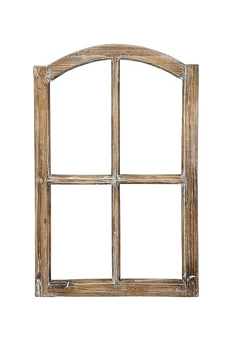 Decoración de Ventana Marco de madera marco de ventana falsa madera ...