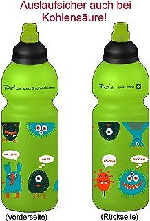 Fizzii Niños 600 plástico botella caño seguro en carbón Acid, sin sustancias nocivas, apto