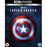 Captain America 4K UHD Trilogy (1-3) Blu-ray Deals