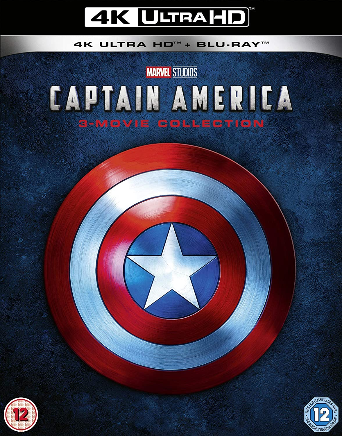 Captain America Trilogy [Italia] [Blu-ray]: Amazon.es: Cine y Series TV
