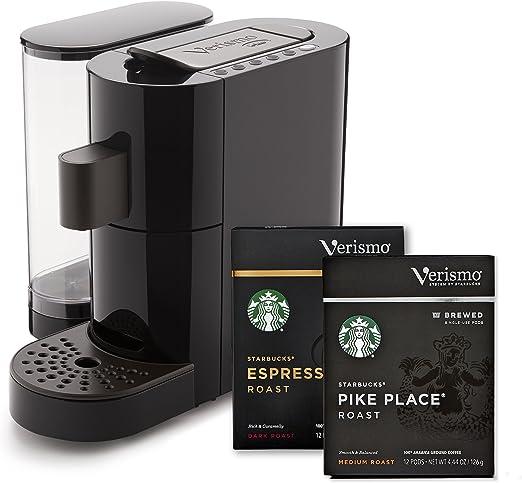 Amazoncom Starbucks Verismo Coffee And Espresso Single