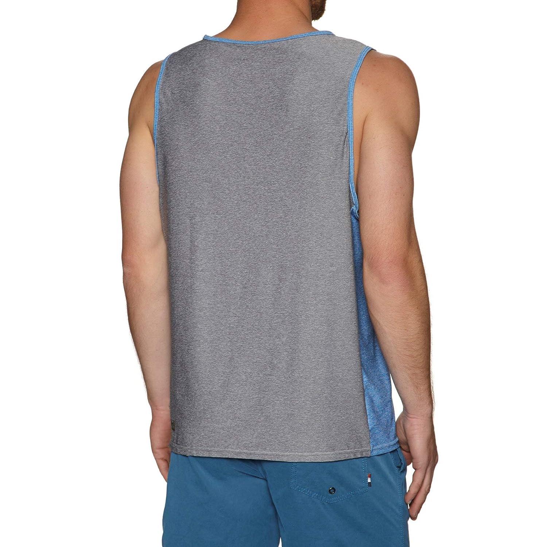O;Neill Mens Hybrid Canotta Cool Grey Protezione Solare UV e propriet/à SPF