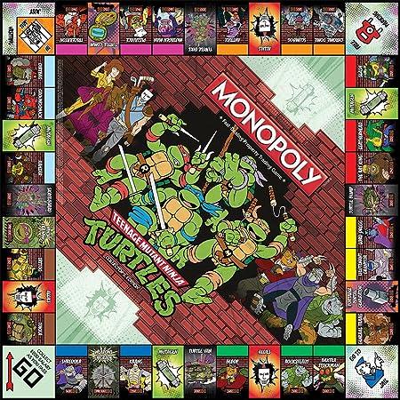 Monopoly: Teenage Mutant Ninja Turtles Collectors Edition Game
