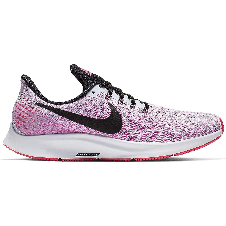 Half bluee Black-hyper Pink-white Nike Women's Air Zoom Pegasus 35 Running shoes