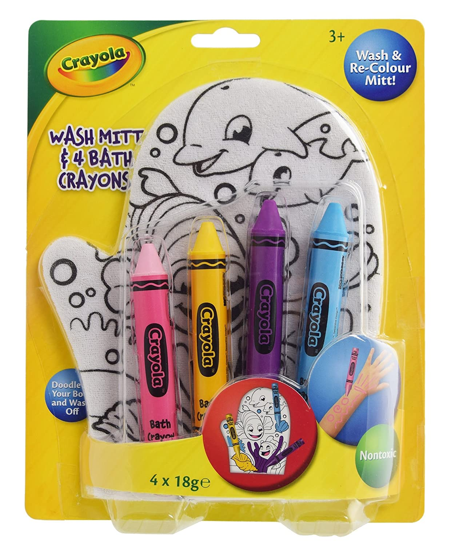 Crayola Crayola guanto e pastelli x Kokomo Ltd K34006