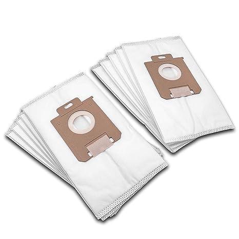 vhbw 10 bolsas para aspiradora vellón micro/cartón Philips ...